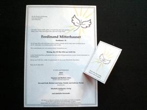Parte Ferdinand Mitterhauser