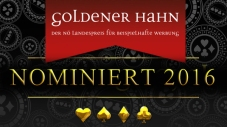 Nominierung Goldener Hahn 2016