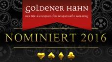 Nominierung Goldener Hahn 2016